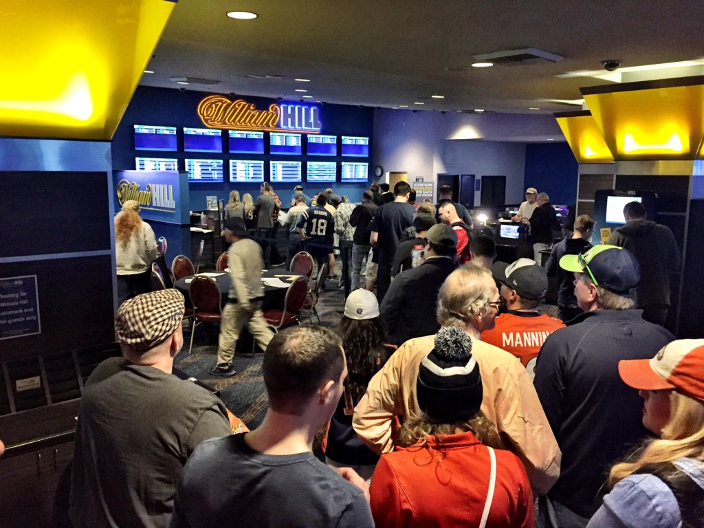 The WIlliam Hill Sports Book at Plaza