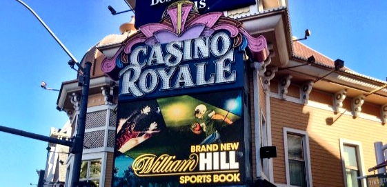 The new William Hill Sports Book at Casino Royale set to open before Super Bowl Sunday