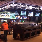 Final Touches Being Made to the New CG Technology Sports Book at The Cosmopolitan