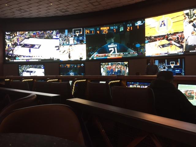 Multiple HD Screens - Cosmopolitan Sports Book