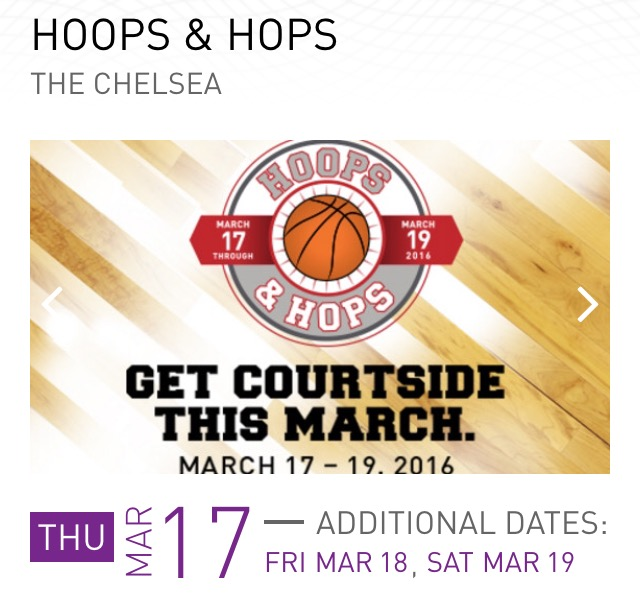 Hoops and Hops at the Cosmopolitan