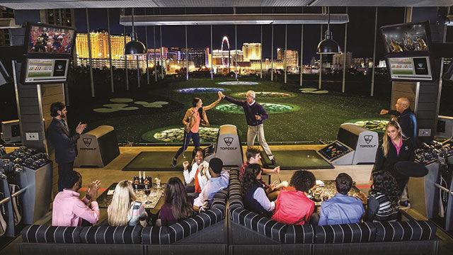 Top Golf Vegas