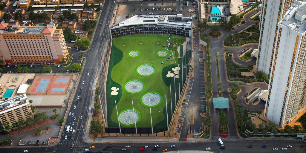 Top Golf Vegas will Have Sports Betting Available