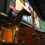 The Man o' War Bronze Statue at the Westgate Super Book in Las Vegas