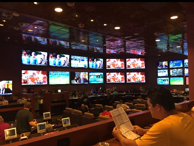 Harrahs Sports Book Las Vegas