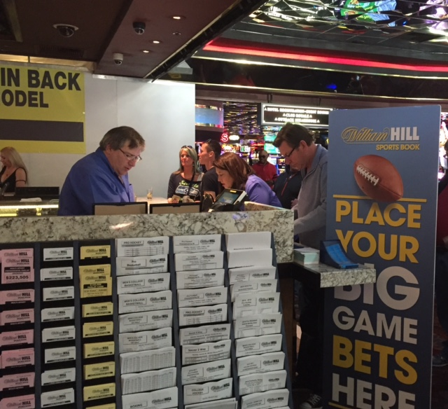 William Hill Sports Betting Counter at Casino Royale
