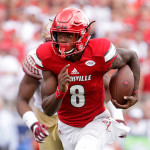 Lamar Jackson Leads Louisville in Their Match Up vs. North Carolina