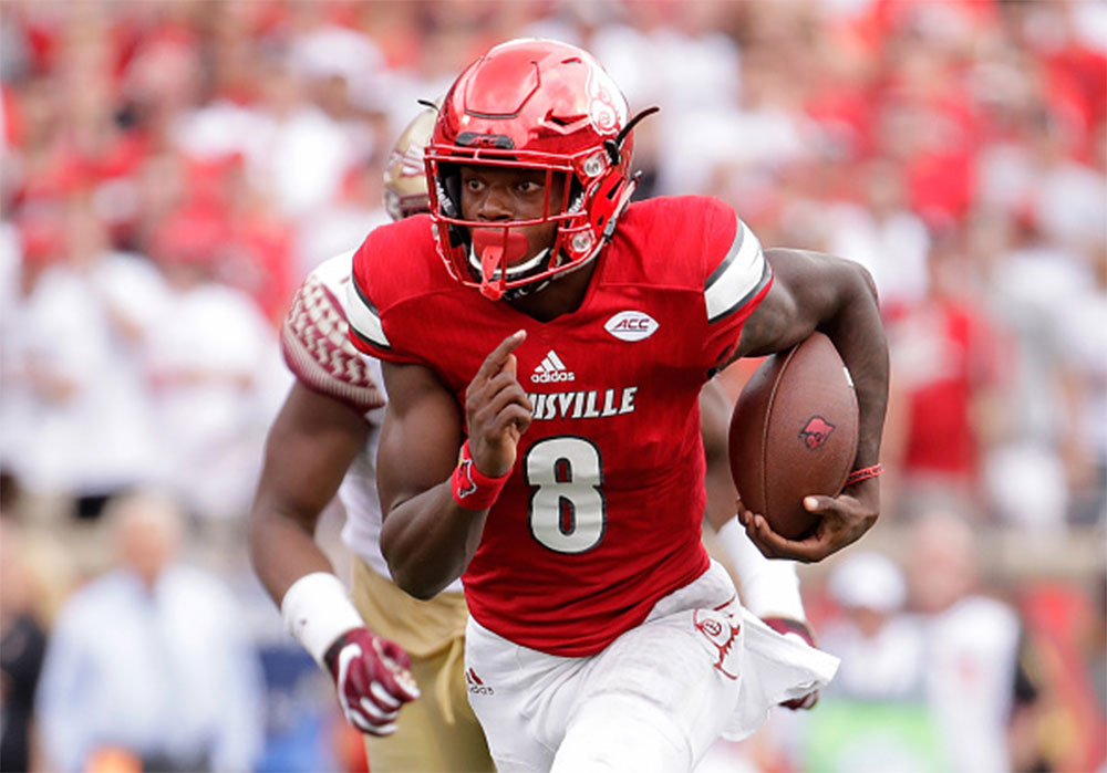 Lamar Jackson Odds to Win Heisman Have Plunged from 100-1 to Just About Even Money.