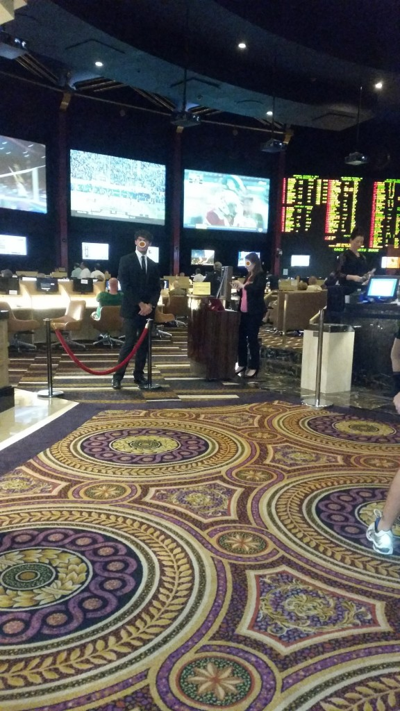 The Velvet Rope at a Las Vegas Sports Book