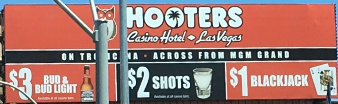 Hooters blackjack drink
