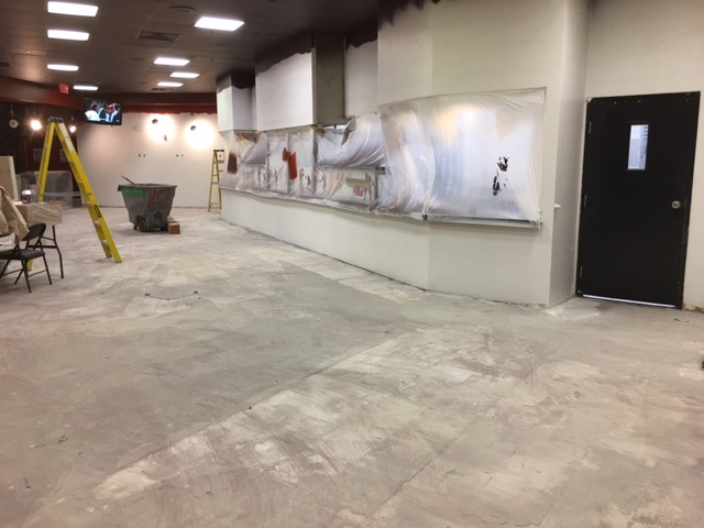 The Former Sports Book Deli Space is Getting a Makeover