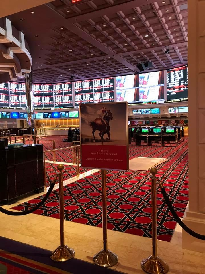 The Brand Spankin' New Wynn Sports Book