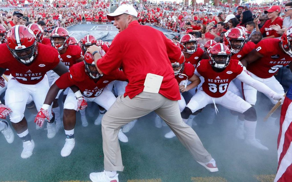 The upstart NC WolfPack are double digit dogs this week