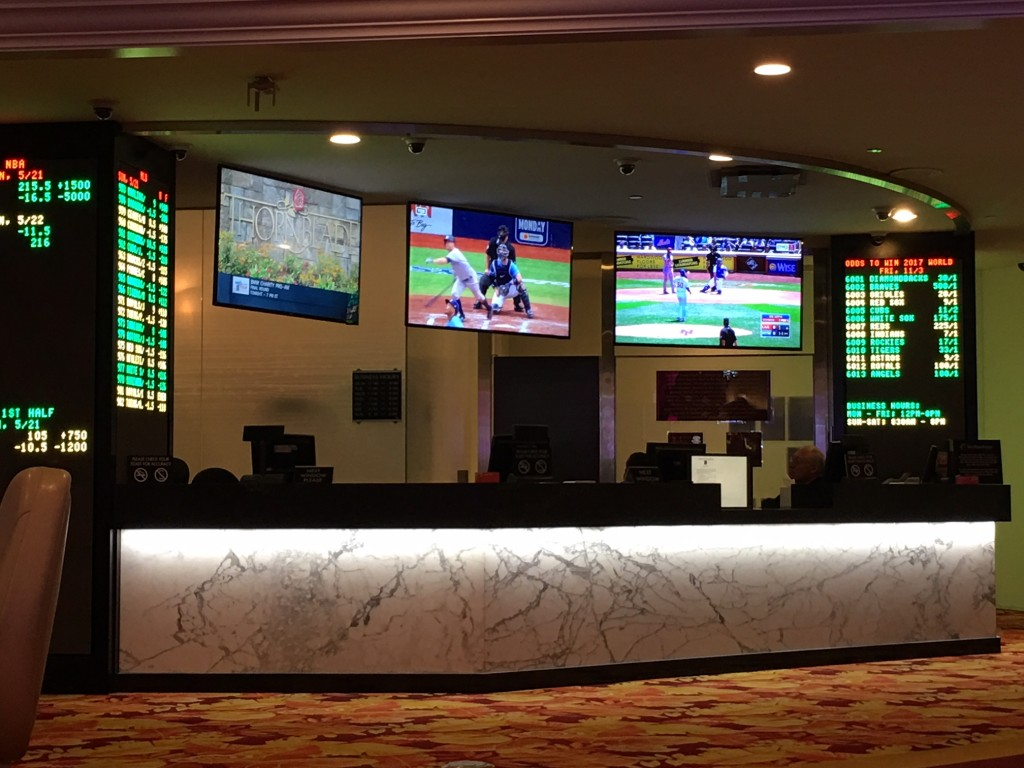 Tropicana Sports Book - Reminds me of that 80s song by the Motels....